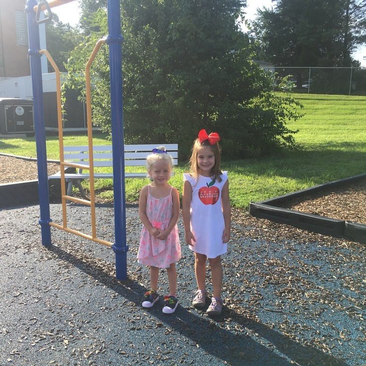 1st Day Playground Blakely Ava