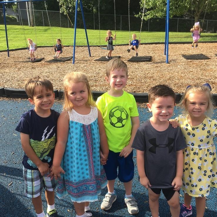 1st Day Playground Friends