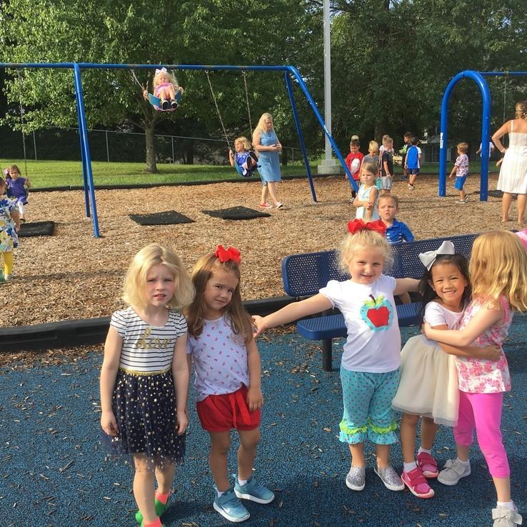 1st Day Playground Girls