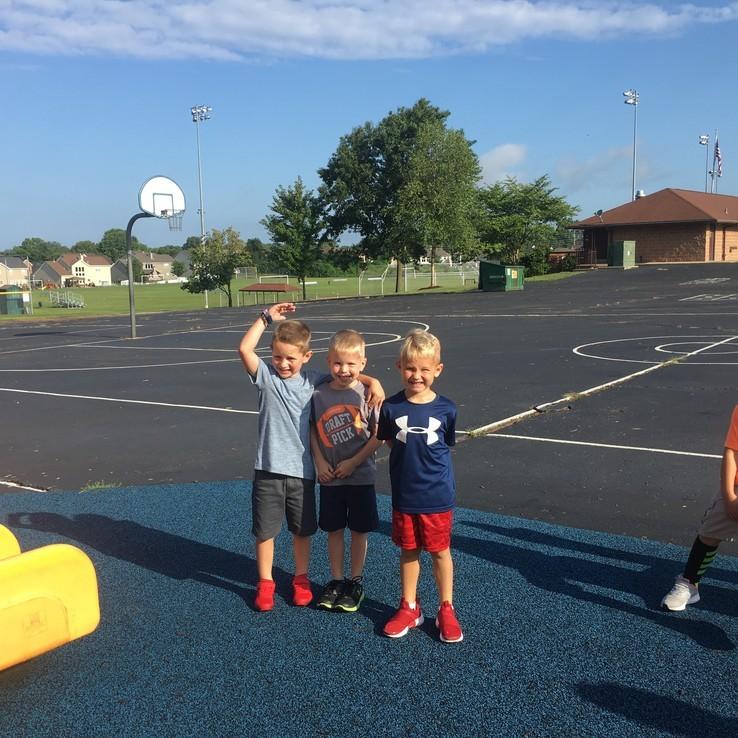 1st Day Playground Hudson Camden Justin