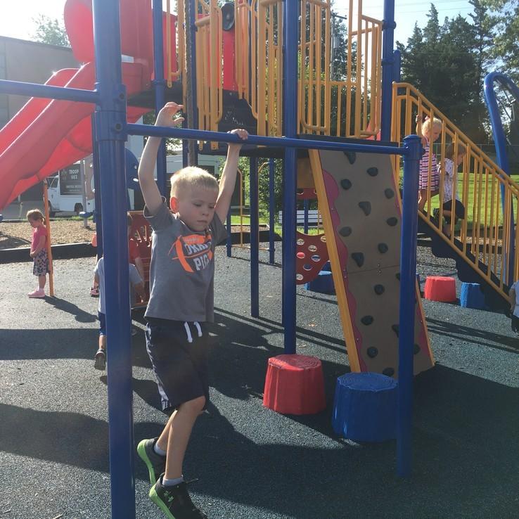 1st Day Playground Justin
