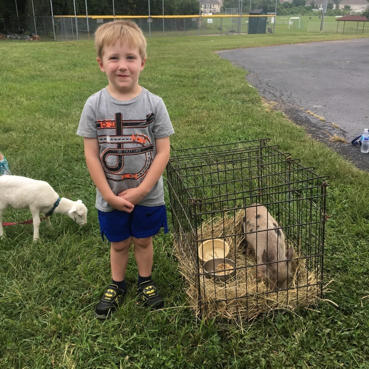 Petting Zoo Logan